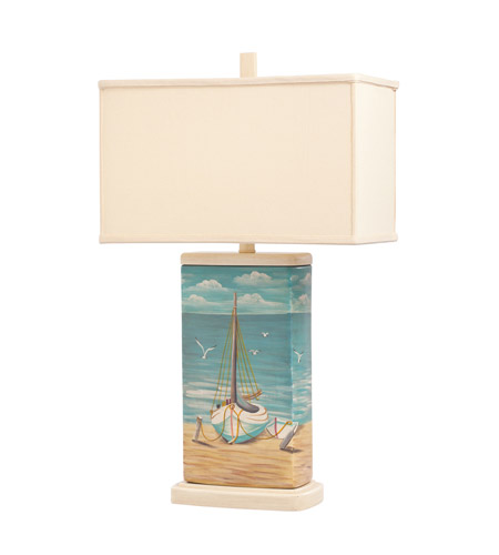 Kichler Lighting Signature 1 Light Table Lamp in Hand Painted Porcelain 70832 photo