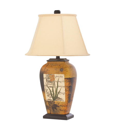 Kichler Westwood Ana 1 Light Table Lamp in Hand Painted Porcelain 70836CA
