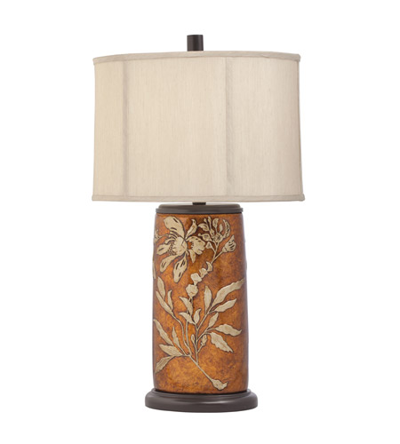 Kichler Westwood Hollowbrook 1 Light Table Lamp in Hand Painted Porcelain 70837CA