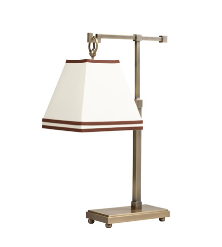 Kichler Lighting Signature 1 Light Desk Lamp in Antique Brass 70845 photo