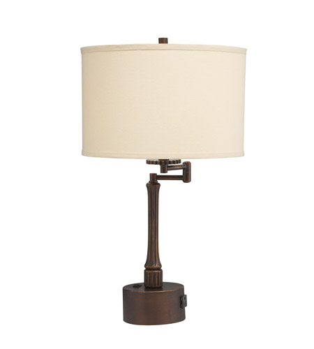 Kichler Lighting Westwood Burnet 1 Light Desk Lamp in Painted Metal 70846CA photo