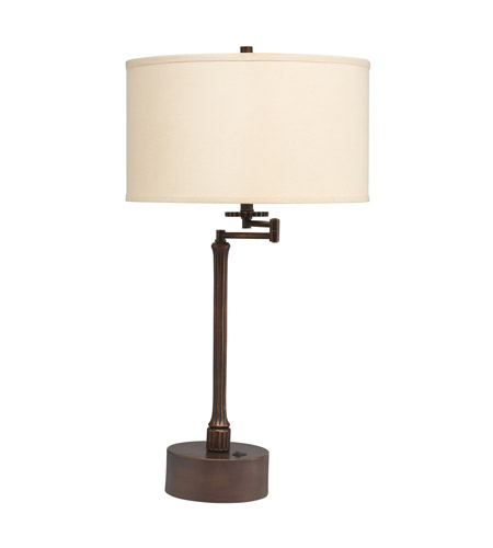 Kichler Lighting Westwood Burnet 1 Light Table Lamp in Painted Metal 70847CA