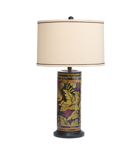Kichler Lighting Westwood St. Kitts 1 Light Table Lamp in Hand Painted Porcelain 70852