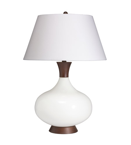 Kichler Lighting Westwood Dagmar 1 Light Table Lamp in White 70853CA photo