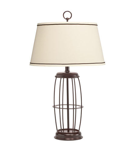 Kichler Lighting Westwood Rosario 1 Light Table Lamp in Painted Metal 70857CA
