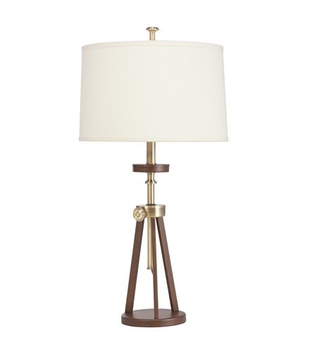 Kichler Lighting Signature 1 Light Table Lamp in Antique Brass 70862AB