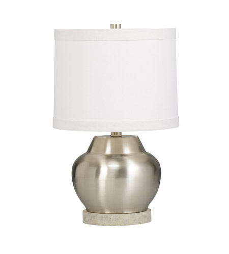 Kichler Westwood Denly 1 Light Accent Table Lamp in Brushed Nickel 70872CA
