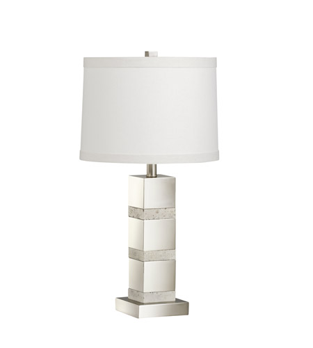Kichler Westwood Denly 1 Light Table Lamp in Brushed Nickel 70873CA