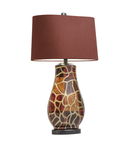 Kichler Westwood Amondi 1 Light Table Lamp in Hand Painted Porcelain 70876 photo