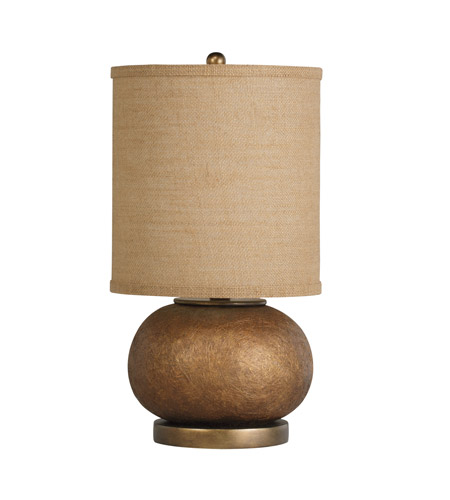 Kichler Westwood Chaka 1 Light Table Lamp in Composite 70881CA