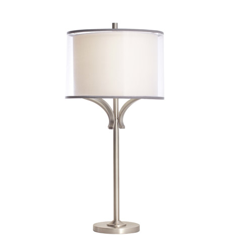 Kichler Lighting Lacey 1 Light Table Lamp in Antique Pewter 70882AP