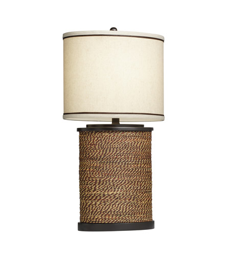 Kichler Westwood Spool 1 Light Table Lamp in Natural 70885 photo