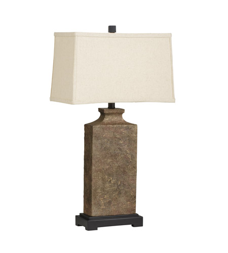 Kichler Westwood Chaka 1 Light Table Lamp in Composite 70886CA