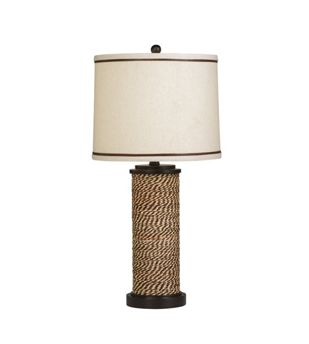 Kichler Westwood Spool 1 Light Table Lamp in Natural 70887CA photo