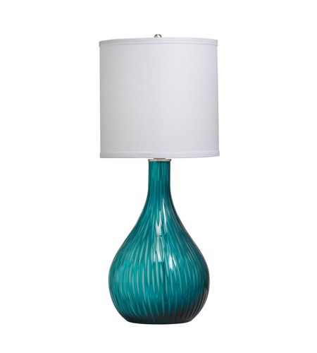 Kichler Westwood Dharma 1 Light Table Lamp in Aqua 70888CA