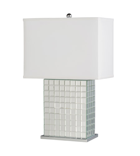 Kichler Westwood Bling 1 Light Table Lamp in Clear 70893CA