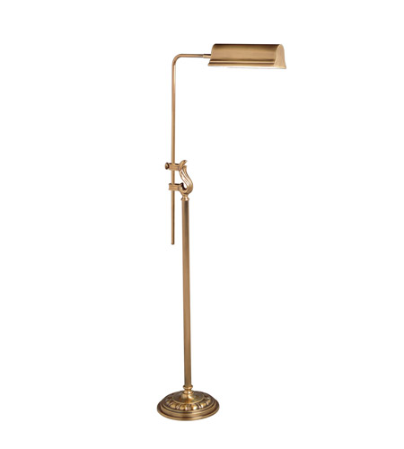 Kichler Lighting Westwood at Work 1 Light Floor Lamp - Pharmacy in Antique Brass 74152 photo
