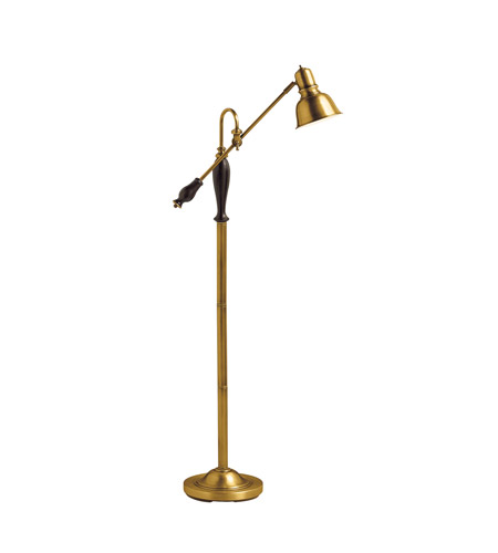 Kichler Lighting Westwood at Work 1 Light Floor Lamp in Antique Brass 74160 photo