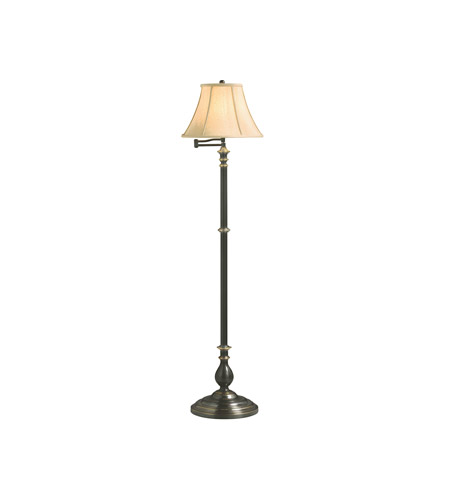Kichler Lighting New Traditions 1 Light Floor Lamp - Swingarm in French Bronze 74163