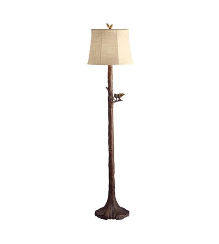 Kichler Lighting Outdoor Portables 1 Light Floor Lamp - Outdoor in Woodbark 74165CA
