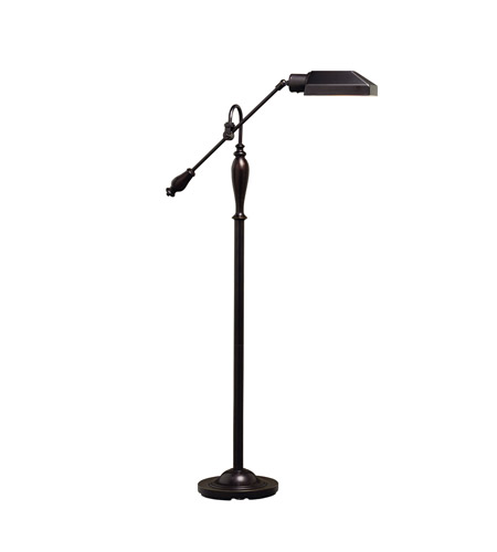 Kichler Lighting Westwood at Work 1 Light Floor Lamp in Bronze 74190 photo