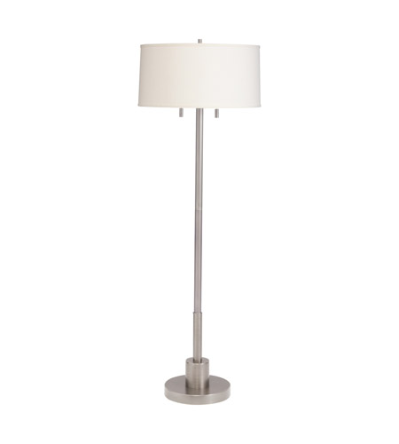 Kichler Lighting Robson 2 Light Floor Lamp - Twin Pull in Brushed Nickel 74249NICA