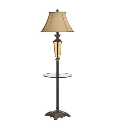 Kichler Lighting Cheswick 1 Light Floor Lamp - Tray in Bronze 74252 photo