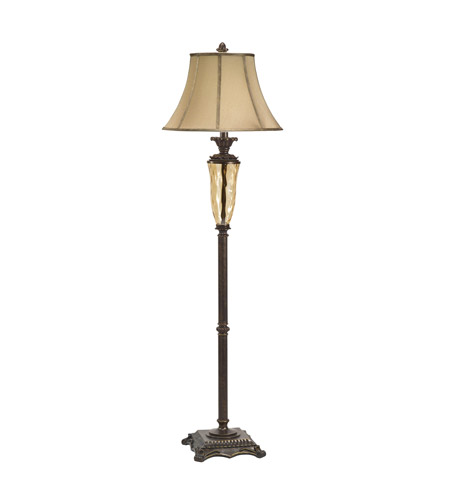 Kichler Lighting Cheswick 1 Light Floor Lamp - Club in Bronze 74255CA photo