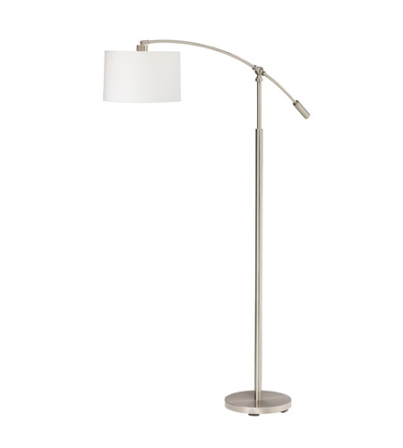 Kichler Lighting Cantilever 1 Light Floor Lamp in Brushed Nickel 74256CA