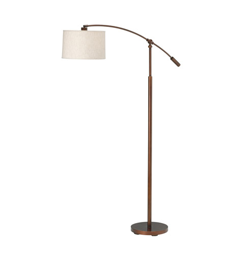 Kichler Lighting Cantilever 1 Light Floor Lamp in Burnish Copper Bronze 74256BCZ