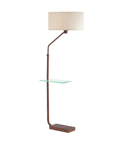 Kichler Lighting Signature 1 Light Floor Lamp - Tray in Burnish Copper Bronze 74260BCZ photo