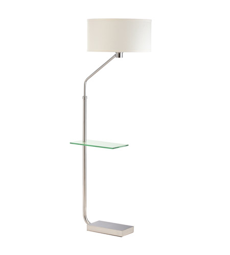 Kichler Lighting Signature 1 Light Floor Lamp - Tray in Brushed Nickel 74260NI photo