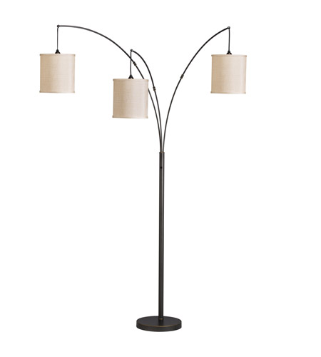 Kichler Westwood Light Arc Floor Lamp in Bronze 74264CA