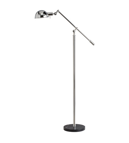 Kichler Westwood Gatwick 1 Light Floor Lamp in Chrome 74275