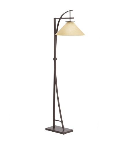 Kichler Westwood Jackson 1 Light Floor Lamp in Painted Metal 74322CA