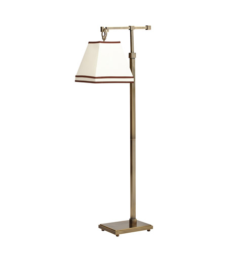 Kichler Lighting Signature 1 Light Floor Lamp in Antique Brass 74345