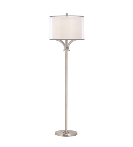 Kichler Lighting Lacey 1 Light Floor Lamp in Antique Pewter 74382AP photo