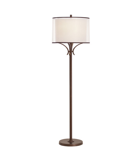 Kichler Lighting Lacey 1 Light Floor Lamp in Mission Bronze 74382MIZ photo