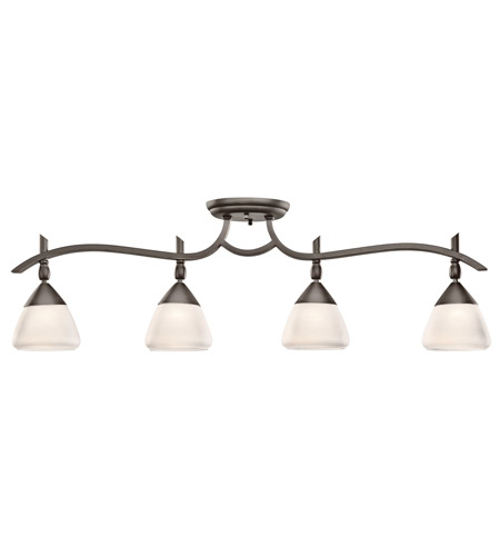 Kichler Lighting Olympia 4 Light Rail Light in Olde Bronze 7703OZW