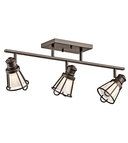 Kichler Lighting Saddler 3 Light Rail Light in Olde Bronze 7725OZ