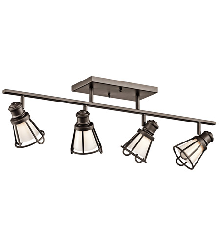 Kichler Lighting Saddler 4 Light Rail Light in Olde Bronze 7726OZ