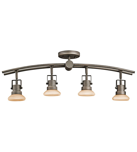 Kichler Lighting Structures 4 Light Rail Light in Olde Bronze 7755OZ photo
