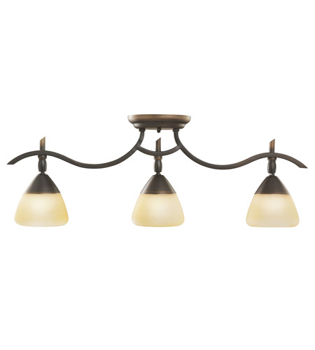Kichler Lighting Olympia 3 Light Rail Light in Olde Bronze 7779OZ photo