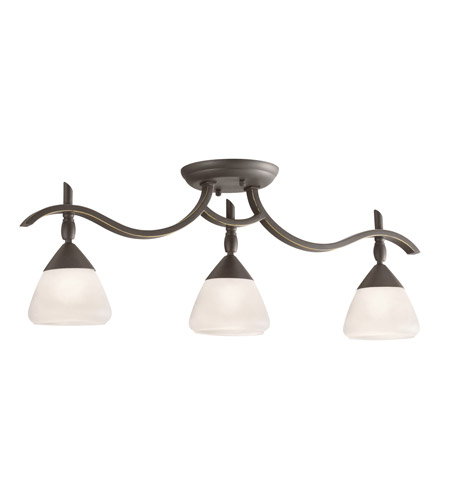 Kichler Lighting Olympia 3 Light Rail Light in Olde Bronze 7779OZW photo