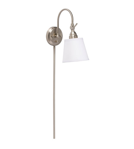 Kichler Lighting Westwood Blaine 1 Light Wall Lamp in Brushed Nickel 78011NIWCA