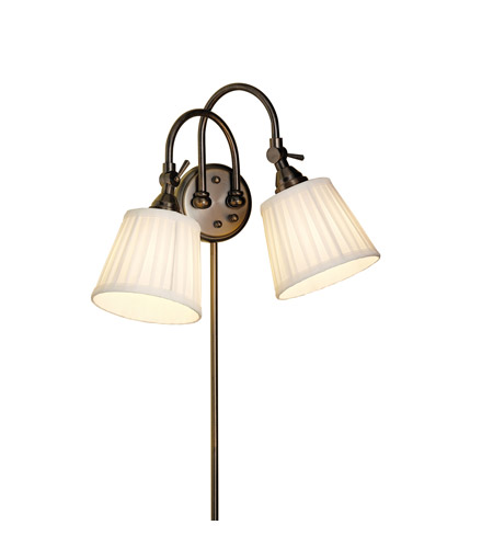 Kichler Lighting Blaine 2 Light Wall Sconce in Burnished Bronze 78012BBZCA