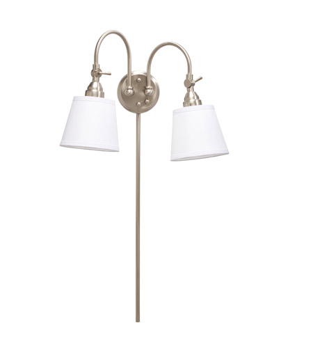 Kichler Lighting Westwood Blaine 2 Light Wall Lamp in Brushed Nickel 78012NIWCA