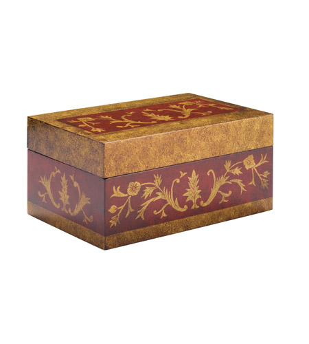 Kichler Lighting Chalmette Decorative Box in Antique Red 78029