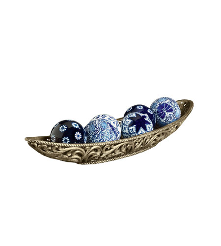 World View 7 X 4 Inch Decorative Bowl With Balls