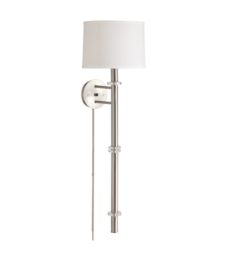 Kichler Lighting Helene 1 Light Wall Sconce in Brushed Nickel 78118 photo